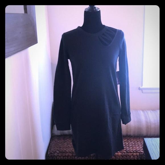 Material Girl Dresses & Skirts - Material Girl black long sleeve dress
